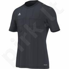 Marškinėliai teisėjams Adidas UCL Referee JSY trumpomis rankovėmis M AH9813