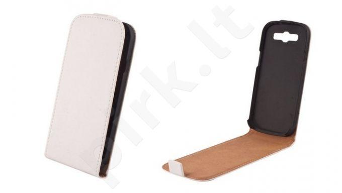 HTC One M7 dėklas ELEGANCE Forever baltas
