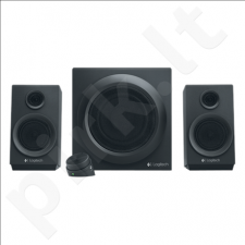 Logitech Z333 2.1 Multimedia Speakers, 40W RMS, Headphone jack: 3.5mm, Black