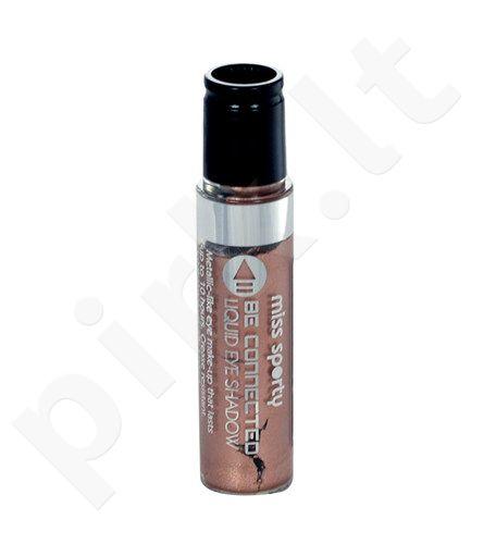 Miss Sporty Be Connected Liquid akių šešėliai, kosmetika moterims, 5ml, (400 Prime Time)