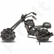 Metalinė dekoro detalė Motociklas 107494