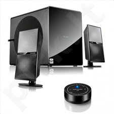 Microlab FC-70BT 2.1 Speakers/ 105W RMS (25Wx2+55W)/ Bluetooth, Optical, 2xRCA/ NFC Enabled Remote Control/ DSP, HC2D