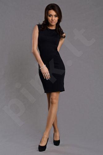 6006-2 EMAMODA suknelė juoda Dydis S