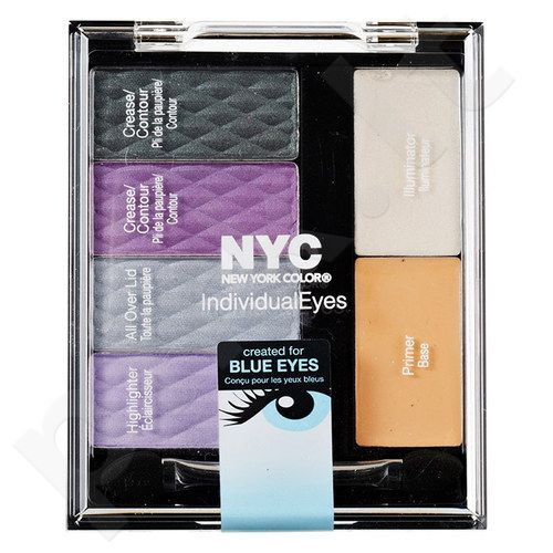 NYC New York Color Individual Eyes Custom Palette, kosmetika moterims, 9,3g, (001 All Eyes On Us)