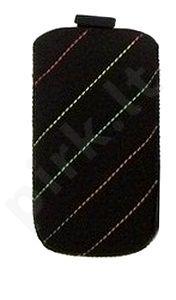 16-B1 COLOR SEAM universalus dėklas N5130 Telemax juodas