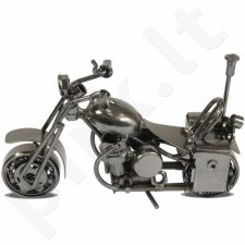 Metalinė dekoro detalė Motociklas 107601