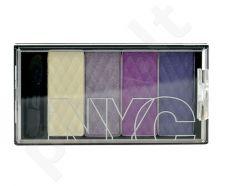 NYC New York Color HD Color Quattro akių šešėliai, kosmetika moterims, 6g, (795 Manhattan Island)