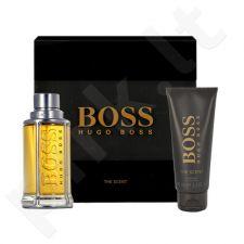 HUGO BOSS Boss The Scent, rinkinys tualetinis vanduo vyrams, (EDT 50ml + 100ml dušo želė)