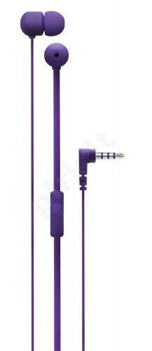 Ausinės su mikrofonu Degauss SPKRS(purpurinė)