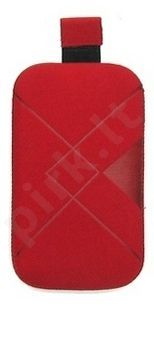 16-B1 RHOMBUS universalus dėklas S5260 Telemax raudonas