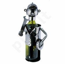 """Metalinis butelio laikiklis """"Mechanikas"""""""