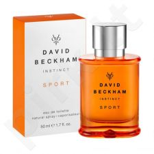 David Beckham Instinct Sport, tualetinis vanduo (EDT) vyrams, 50 ml
