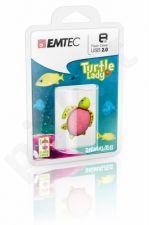Atmintukas Emtec Animalitos Marine Vėžliukas 8GB, Švelni medžiaga