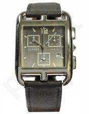 Laikrodis HERMES   CAPE CODE CRONO kvarcinis SS CASE oda STRAP