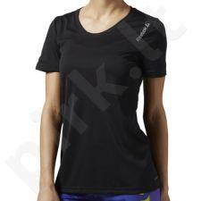 Marškinėliai bėgimui  Reebok Running Essentials Short Sleeve W AX9417