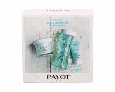 PAYOT Creme Glacee, Hydra 24+, rinkinys dieninis kremas moterims, (Day Care 50 ml + Moisturizing Smoothing emulsija 125 ml + Face Mask 15 ml)