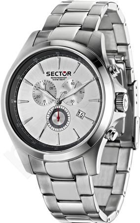 Laikrodis Sector   290 Contemporary.   and dual time version. 45mm.