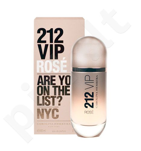 Carolina Herrera 212 VIP Rose, EDP moterims, 80ml, (testeris)