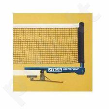 Tinklelis stalo tenisui  STIGA Match Clip su rankenom