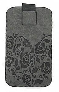 17-A FLOWERS universalus dėklas N5230 Telemax pilkas