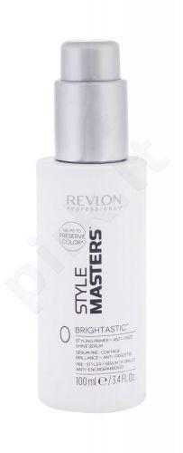 Revlon Professional Style Masters Double or Nothing, Brightastic, plaukų glotninimui moterims, 100ml