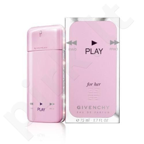 Givenchy Play for Her, kvapusis vanduo (EDP) moterims, 75 ml