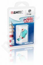 Atmintukas Emtec Animalitos Marine Banginiukas 8GB, Švelni medžiaga