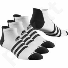 Kojinės Adidas Climalite 3-Stripes Thin-Cushioned 3 poros S24630