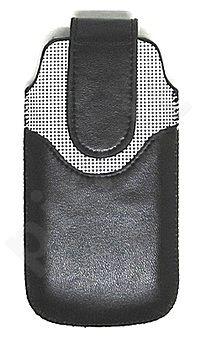 17-A universalus dėklas N700 Telemax juodas/baltas