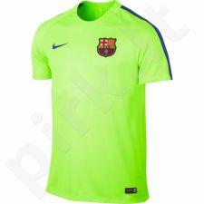 Marškinėliai futbolui Nike Dry Squad FC Barcelona M 808924-369