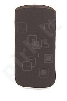 06 SQUARE universalus dėklas N300 Telemax rudas