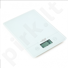 Adler AD 3138 Kitchen scales, Capacity 5 kg , Big LCD Display, Auto-zero/Auto-off, Red