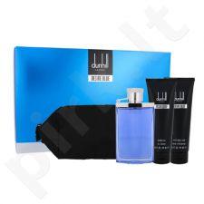 Dunhill Desire Blue rinkinys vyrams, (EDT 100 ml + dušo želė 90 ml + losjonas po skutimosi 90 ml + kosmetikos krepšys)