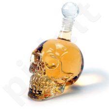 Stiklinė gėrimų kaukolė
