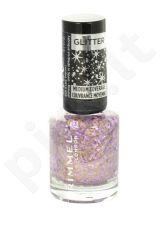 Rimmel London Glitter Medium Coverage nagų lakas, kosmetika moterims, 8ml, (010 Sparkle Every Day)