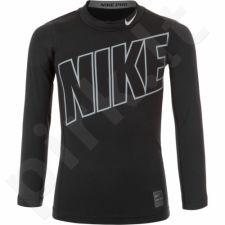 Marškinėliai termoaktyvūs Nike Hyperwarm Comp Junior 743419-010
