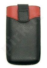 17-B1 universalus dėklas S5260 Telemax juodas/raudonas