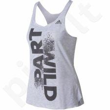 Marškinėliai treniruotėms Adidas Top Wild Prime Tank Top W BK2664