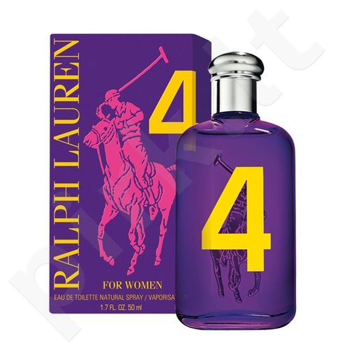 Ralph Lauren Big Pony 4 for Women, tualetinis vanduo moterims, 100ml, (testeris)