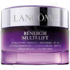 Lancome Renergie Multi kremas su liftingu SPF15 Dry Skin, kosmetika moterims, 50ml, (testeris)