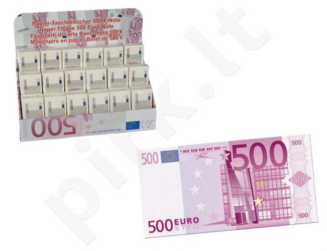 """Servetėlės """"500 Eurų"""""""