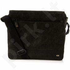 DAAG Jazzy Run 4 odinė rankinė  unisex juoda