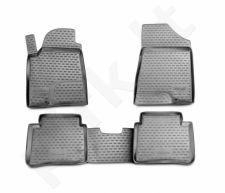 Guminiai kilimėliai 3D NISSAN Teana II 2008-2014, 4 pcs. /L50070G /gray