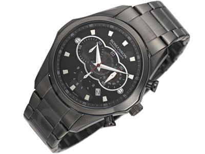 Romanson Sports TM3207HM1BA32W vyriškas laikrodis-chronometras