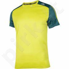 Marškinėliai bėgimui  Adidas Response Short Sleeve Tee M S93831