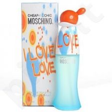 Moschino Cheap And Chic I Love Love, tualetinis vanduo moterims, 50ml