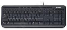 Wired Kbrd 600 USB Port PL/RO Hdwr Black