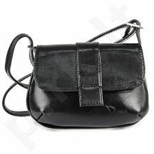 DAN-A T80 juoda rankinė iš natūralios odos , moteriška