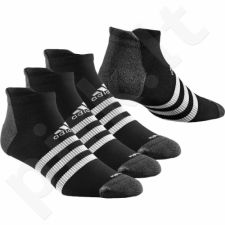 Kojinės Adidas Climalite 3-Stripes Thin-Cushioned 3 poros S24631