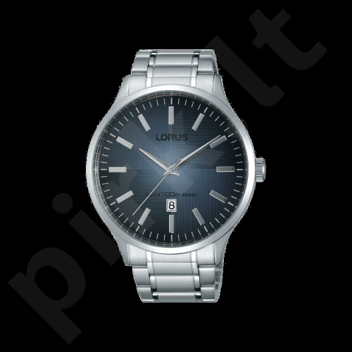 Laikrodis LORUS  STAINLESS STEEL - kvarcinis - 44x - - chronografasgrafas